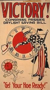 Daylight savings bill poster