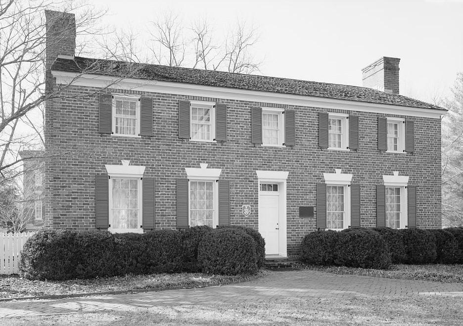 Edmund King home in Montevallo, Alabama (Library of Congress)