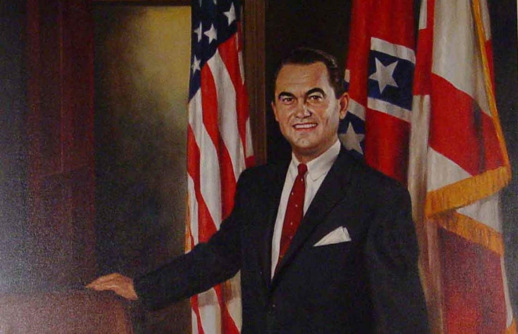 Gov. George Wallace portrait (Alabama Department of Archives and History)