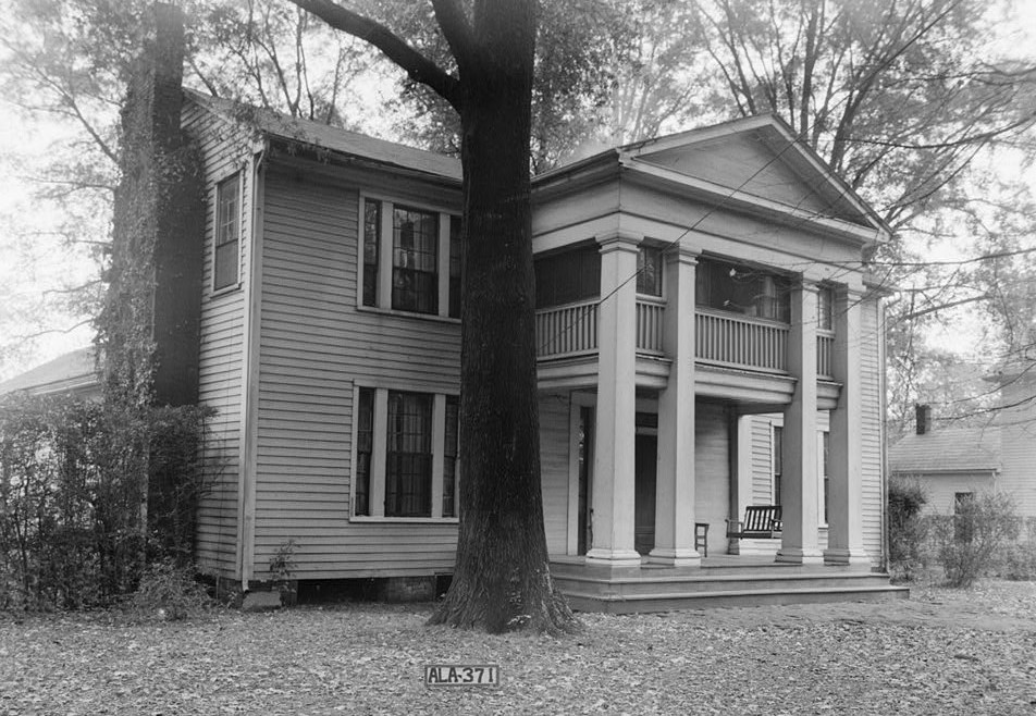 Judge William Harrison Walker House, 309 East Clinton Street, Athens, Limestone County, AL ca.1930s (Historic American Buildings Survey, LIbrary of Congress)