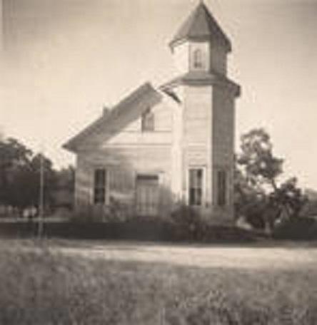 Methodist church building on Hatchett Street in Elmore, Alabama (ADAH)