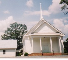 Patron + Coosa County Baptists had a major split because of differing beliefs in early Alabama