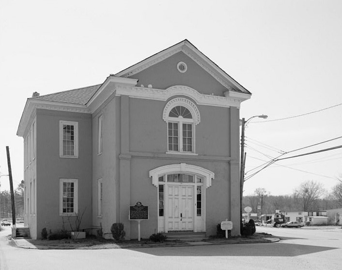 Old courthouse - now a museum, Columbiana, Alabama (Library of Congress)