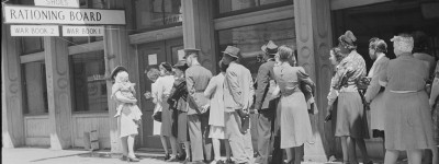 July 7, 1943 - rationing newspapers - was there a conspiracy?