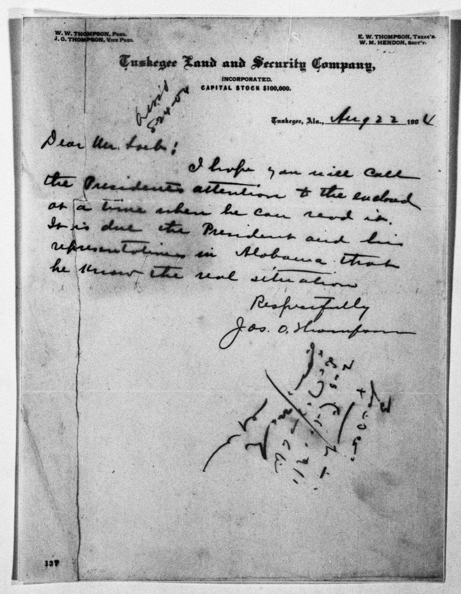 Thompson, Joseph Oswalt, 1869 Macon -letter to Mr. Loeb Mississippi letters)
