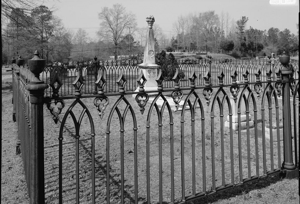 Ware Cemetery Plot, Shelby County Road 25, Columbiana, Shelby County, AL (Historic house survey - Alabama Department of Archives and History)
