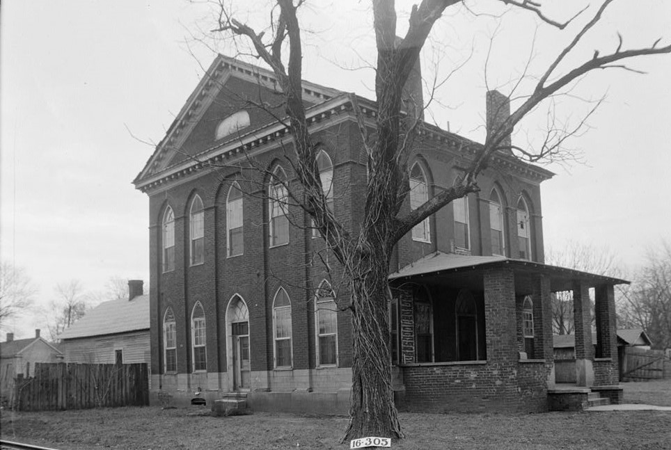 old Masonic Hall, Athens, Limestone County, Alabama (Historic American Buildings Survey, LIbrary of Congress)