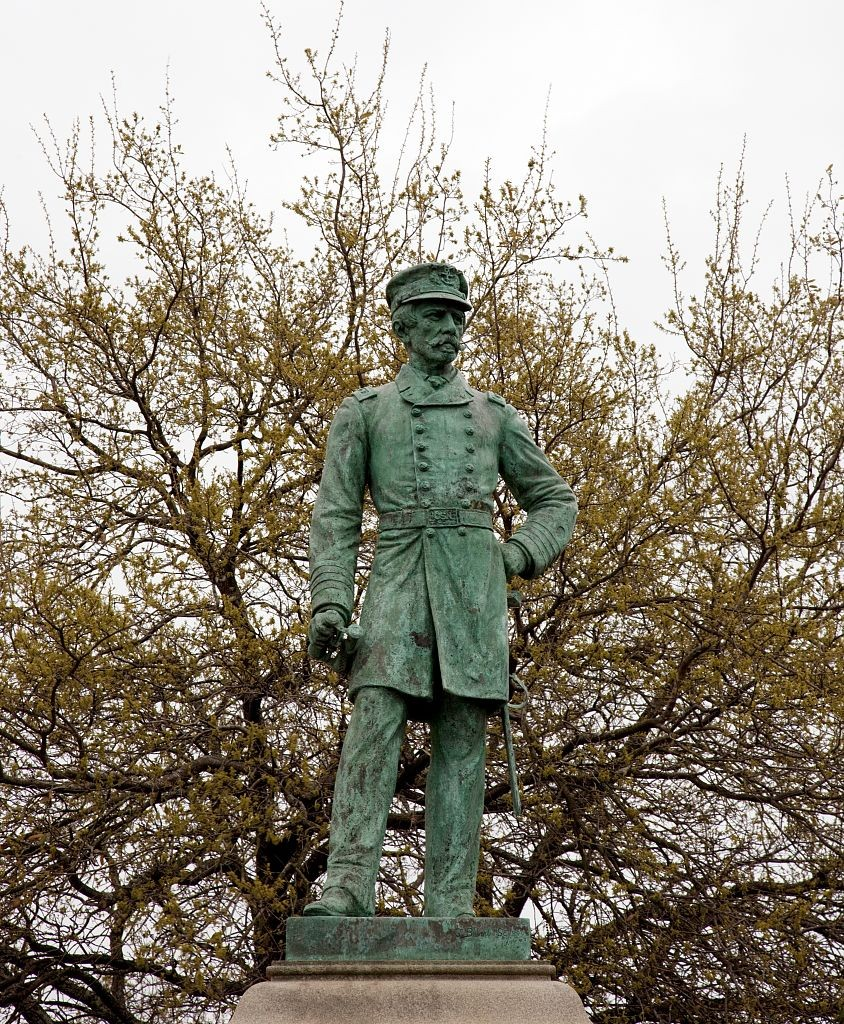 Admiral Semes statue in Mobile, Alabama by Carol Highsmith 2010 (Library of Congress)