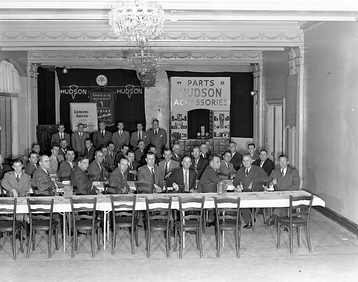 Hudson Motor Car Company sales meeting in Montgomery, Alabama Dec. 17, 1946 Q74464