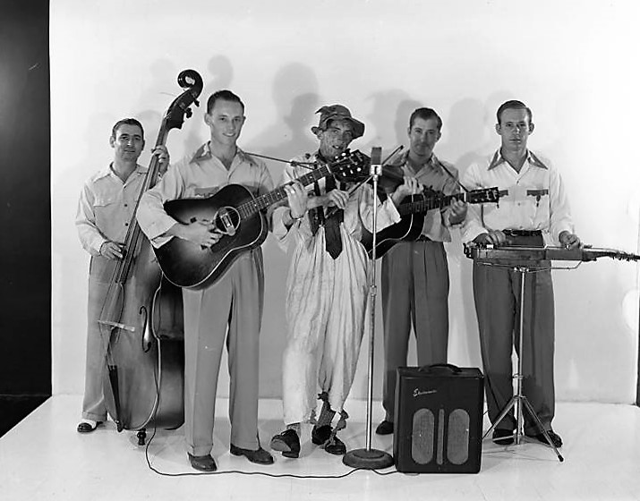Members of the Hope Hull band, September 7, 1948 (by photographer John E. Scott, Alabama Department of Archives and History)