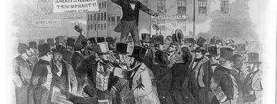 PATRON + Political Controversy was rampant in 1855 America
