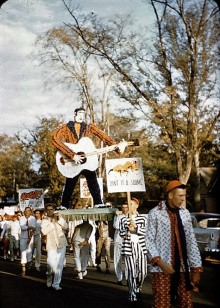Photographs from the past -Photographs of Auburn University students in 1956 Parade