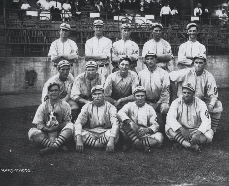 Birmingham Barons Baseball team 1917 (by Oscar Hunt Birmingham Public Library)
