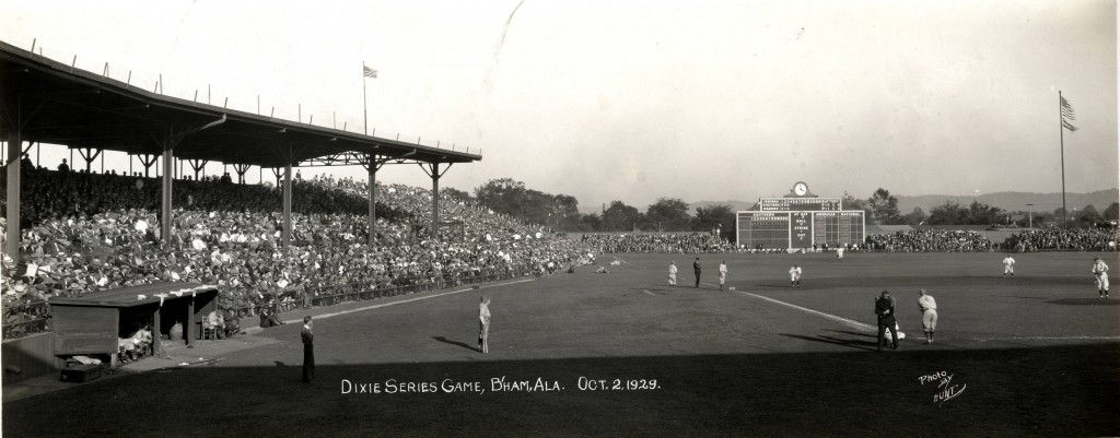 Dixie Series Baseball Game - Birmingham Barons Oct 2, 1929 (Oscar V. Hunt, Birmingham Public Library)