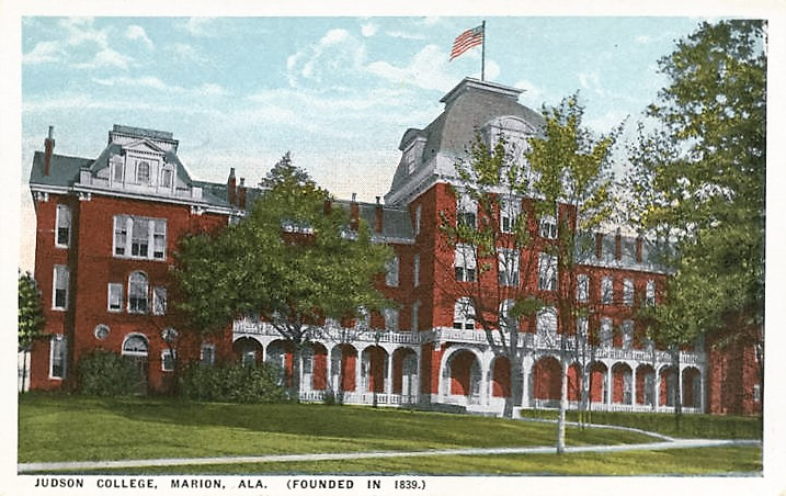 Judson College, Marion, Alabama ca. 1900 (Alabama Department of Archives and History)