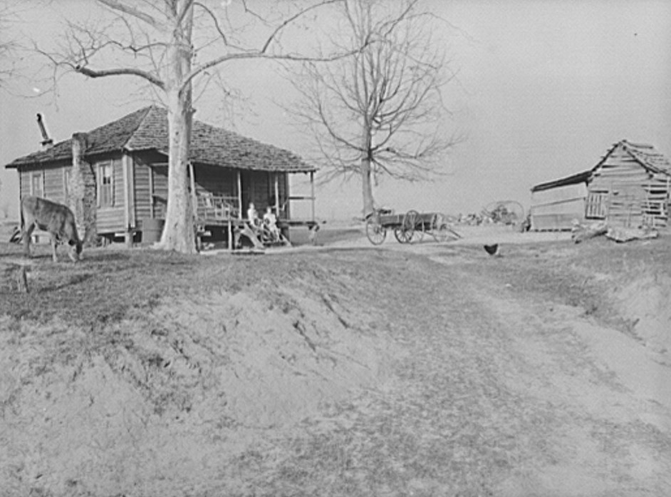 Lewis family home, R.R. (Rural Rehabilitation). Coffee County, Alabama, April 1939 (Marion Post Walcott, Library of Congress)