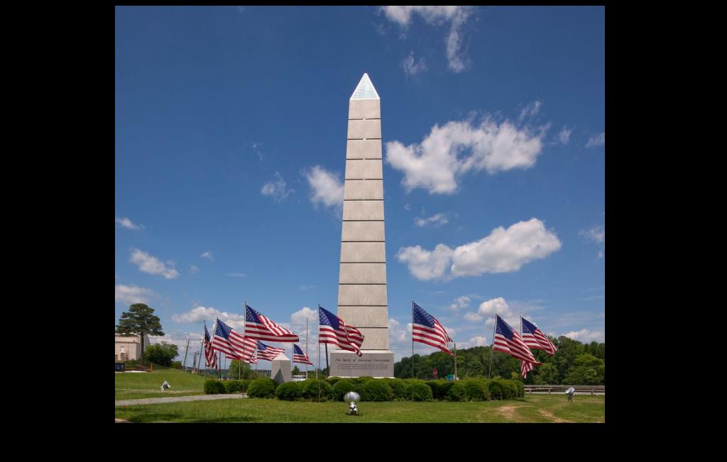 Monument to spirit of American Citizenship in Gadsden, Alabama (Carol Highsmith, Library of Congress)