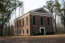 Valley Creek Presbyterian Church – the founders built the first church building before their homes were built
