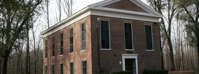 Valley Creek Presbyterian Church - the founders built the first church building before their homes were built