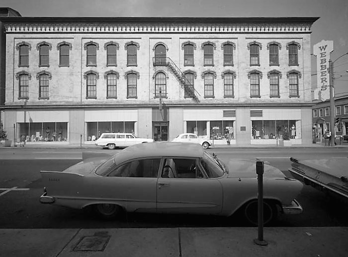 Webber building (photograph by John E. Scott, Alabama Department of Archives and History)