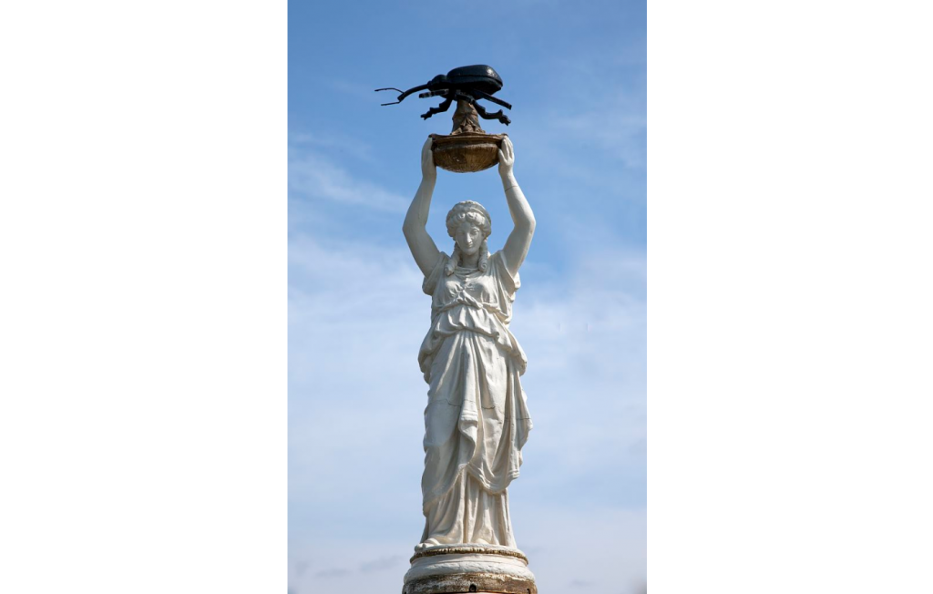boll weevil monument (Carol Highsmith, Library of Congress)