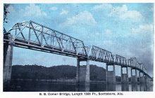 PATRON + B. B. Comer Bridge was the only remaining bridge of original 15 toll bridges