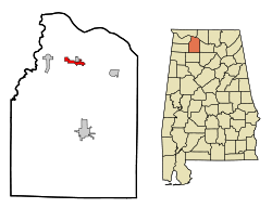 Courtland, Lawrence County, Ala