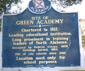Green Academy marker