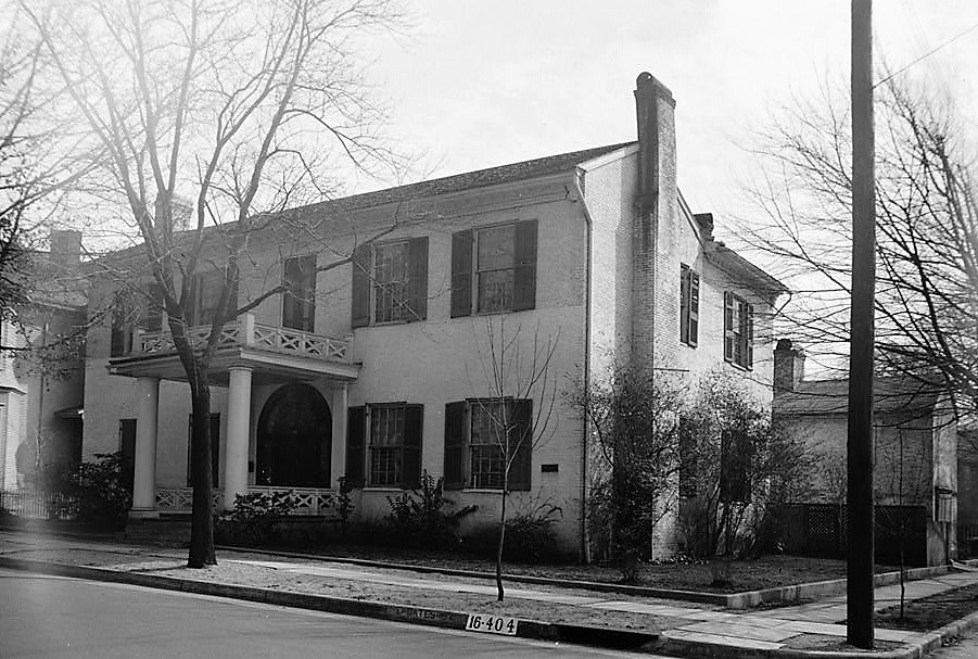 Howard Weeden home, Madison County, Alabama (Library of Congress)