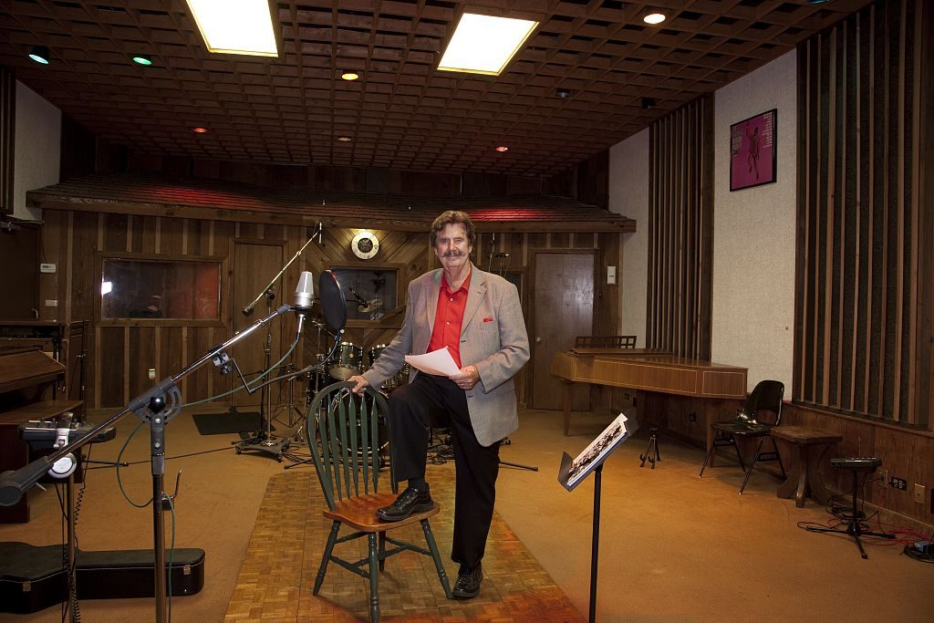 Muscle Shoals Rick Hall, founder of FAME Recording Studios, sitting in the FAME studio in Muscle Shoals, Alabama 2010 (Carol Highsmith - Library of Congress)