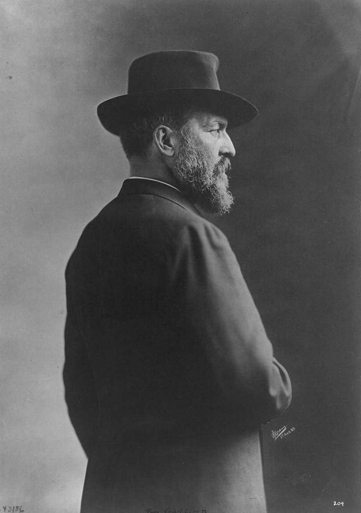 President Garfield portrait 1870 (Library of Congress)