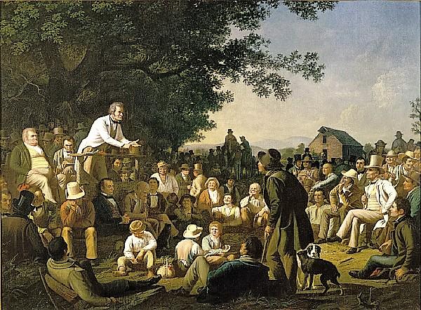 Stump Speaking, George Caleb Bingham 1843-54, St. Louis Art Museum