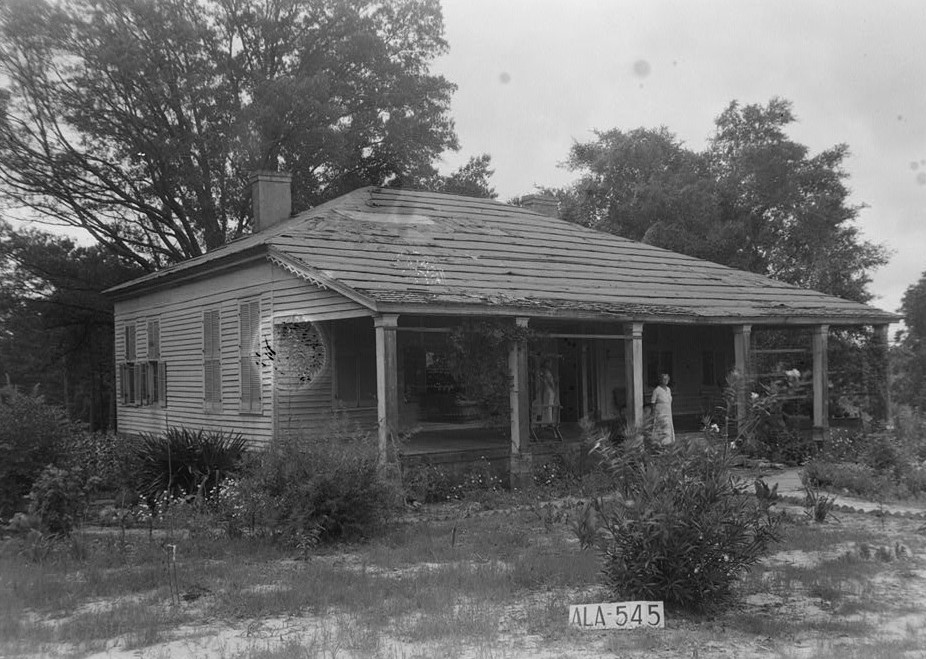 The Birds' Nest, U.S. Route 43, Vilula, Perry County, AL (Library of Congress)