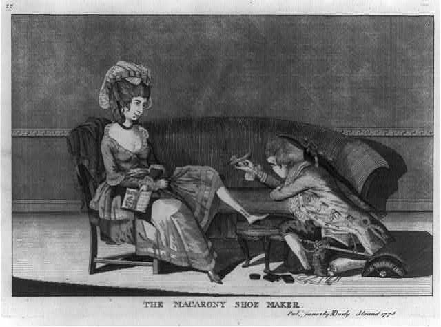 The shoemaker (Library of Congress)