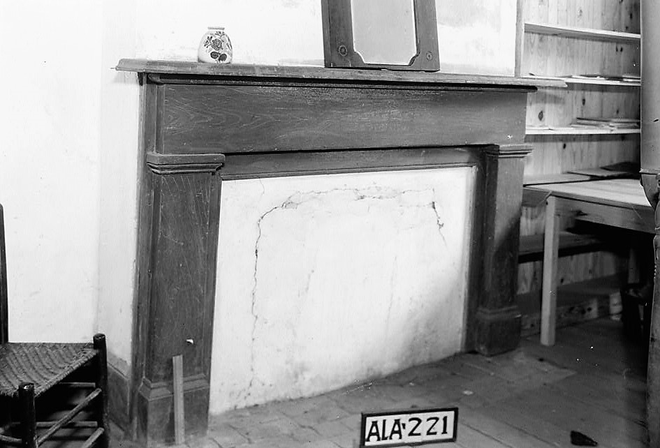 alex-bush-april-8-1935-fireplace-in-north-east-room-on-second-floor-old-southern-university-university-avenue-college-street-greensboro