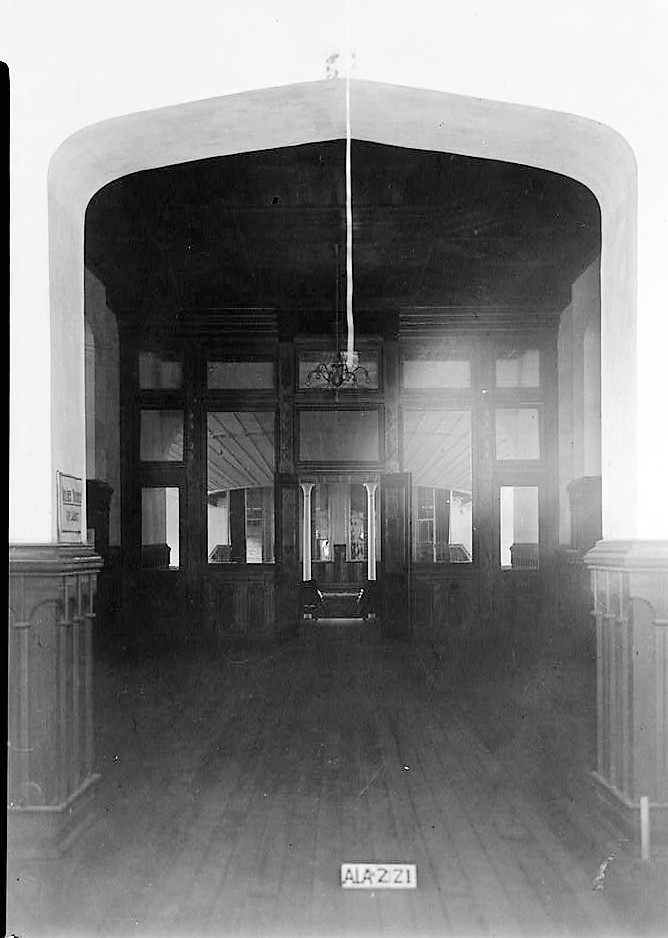 alex-bush-photographer-april-8-1935-main-hall-towards-south-from-front-door-old-southern-university-university-avenue-college-street-greensboro-hal
