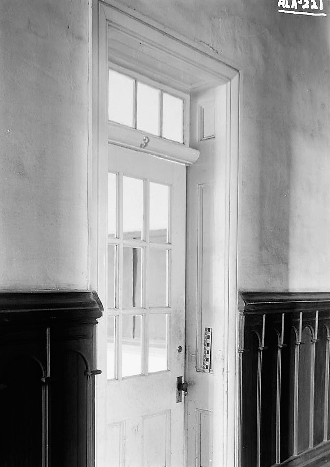 alex-bush-photographer-july-31-1936-door-in-north-wall-of-west-hall-old-southern-university-university-avenue-college-street-greensboro-hale-count