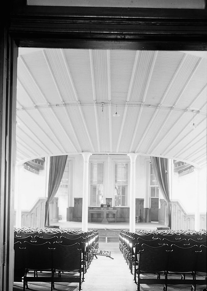 alex-bush-photographer-july-31-1936-stage-in-south-end-of-auditorium-old-southern-university-university-avenue-college-street-greensboro-hale-count