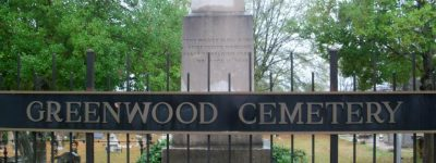 Greenwood Cemetery is one of the oldest in Tuscaloosa, Alabama - these inscriptions includes many notes about early pioneers of Tuscaloosa