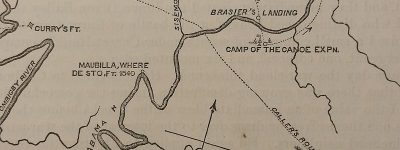 Down the Alabama River in 1814 - Day Seven on August 17, 1814