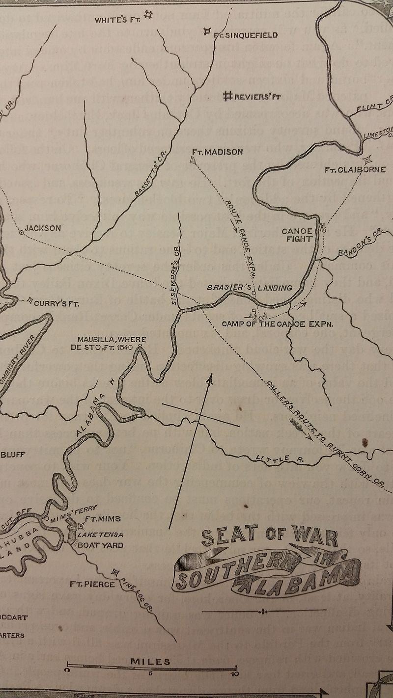 PATRON + Fort Claiborne history published 1818