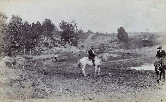 men-on-horseback-at-the-edge-of-a-forest-in-florence-alabama-ca-1890-alabama-department-of-archives-and-history