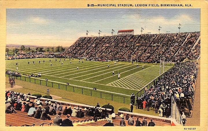 Legion Field, Birmingham, Alabama ca. 1939 (ADAH)