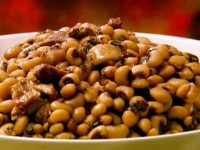 RECIPE WEDNESDAY:  Black-eyed peas – mashed or not mashed?