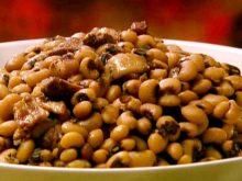 RECIPE WEDNESDAY:  Black-eyed peas – mashed or not mashed?