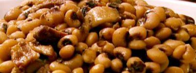 PATRON + RECIPE WEDNESDAY:  Black-eyed peas – mashed or not mashed?