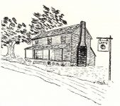 Lewis' Tavern – in Macon County, Alabama was owned by son-in-law of Big Warrior