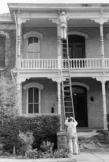 PATRON + SATURDAY SECRET: Best Time for Painting a house with lead paint from 1874