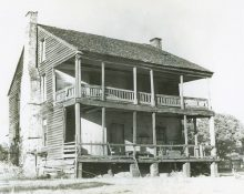 Can you imagine how difficult it was to travel in early Alabama? Here is where people stayed
