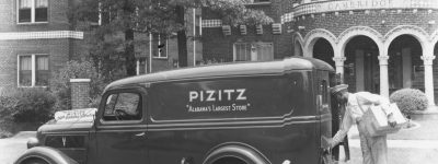 PATRON + Pizitz Department Stores - started by a man who arrived in America without a dollar in his pocket